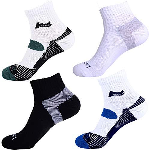 Laulax - 4 pares calcetines Coolmax profesionales