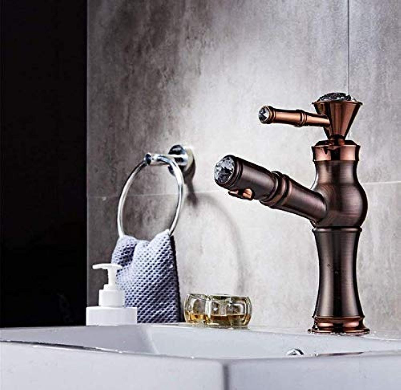 360° Drehbar Wasserhahn Küchenarmatur Mischbatterie Spülbecken Mischbatterie Aus Massivem Messing Waschbecken Wasserhahn (Farbe  -, Gre  -)