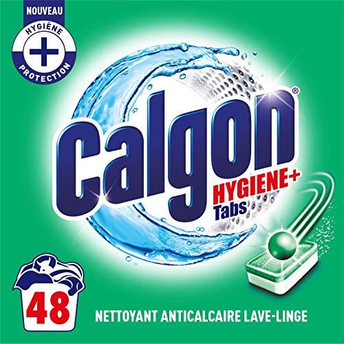 Calgon Anti-Kalk Hygiene Plus für die Waschmaschine, 48 Tabs