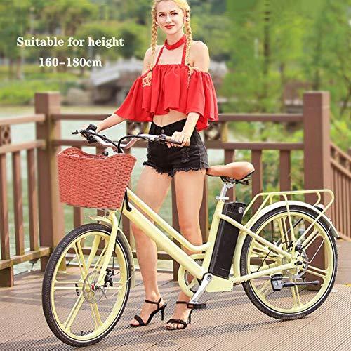 SHJC Bicicleta Eléctrica Urbana de 24