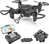 4DRC V2 Drone con Telecamera 720P HD WiFi FPV, Traiettoria di Volo, 3D Filp, modalità Senza Testa,...