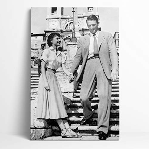 Recuerdo Audrey Hepburn lienzo pared arte 12'X 18' la actriz más popular de la historia Audrey Hepburn familia decorativa