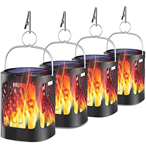 YoungPower Hanging Solar Lantern 4-Pack
