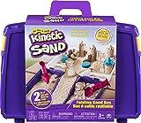 Kinetic Sand, Folding Sand Box with 2lbs of & Mold &...