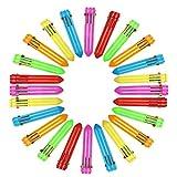 Penne Multicolore 24 pezzi Retrattile Penne a Sfera Multicolore Penne 10-in-1Colorate Retrattile Mini Shuttle Penne per Ufficio Scuola Forniture Studenti