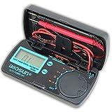 Mini Multimetro De Bolsillo Multímetro Electricista AC/DC De Rango LCD Voltimetro