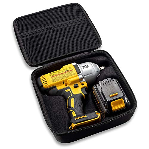 Caseling Hard Case Fits Dewalt DCF899B or DCF899HB 20V MAX XR Brushless High Torque Impact Wrench with Hog Ring Anvil and Battery Pack