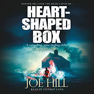 Heart-Shaped Box                   By:                                                                                                                                 Joe Hill                               Narrated by:                                                                                                                                 Stephen Lang                      Length: 11 hrs and 2 mins     68 ratings     Overall 4.4