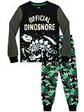 Harry Bear Pijamas para niños Dinosaurio Ajuste Ceñido Negro 9-10 Años