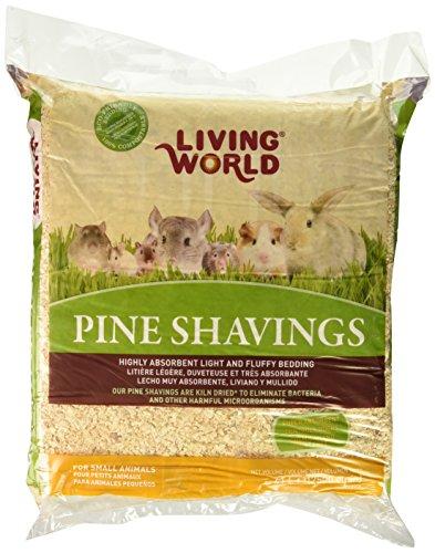 Living World Pine Shavings, 2500-Cubic Inch