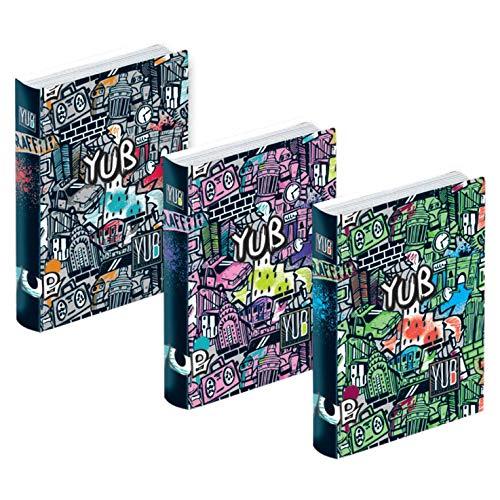 Diario Scuola Seven YUB GRAFFITI, Formato Pocket 12 mesi, NON Datato (Rosa)