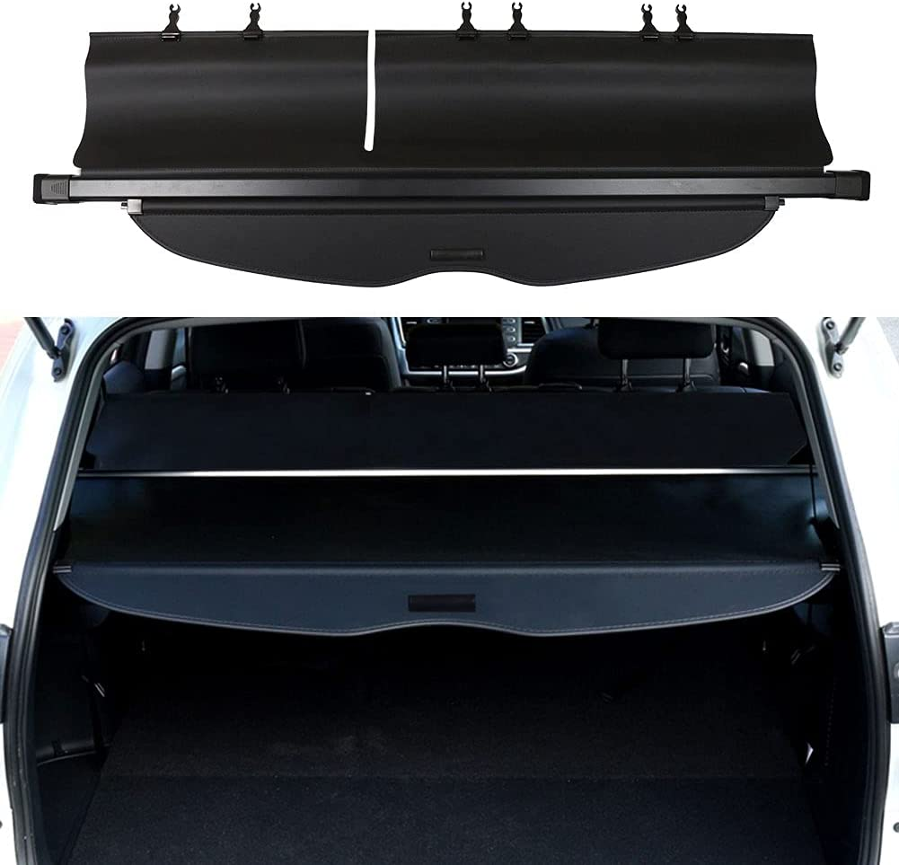 BOPARAUTO Cargo Cover for Accessories Rapid rise Limited price sale 2014-201 Highlander Toyota