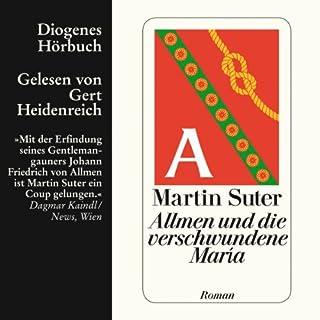 Allmen und die verschwundene María audiobook cover art