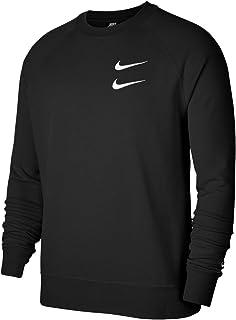 Nike Felpa girocollo grigia con logo