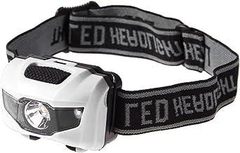ZJJX Led-hoofdlamp, 170 graden draaibaar, met 4 modi, waterdichte led-hoofdlamp, zaklamp voor hardlopen, kamperen, vissen