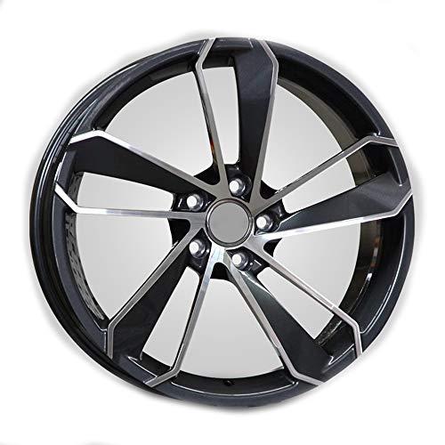 GYZD Alu Felgen 19 Zoll Durchfluss geschmiedete Radlegierung Ersatzrad Auto Rad Maschine Aluminium Felge Passend für R19 *8.5J Reifen Geeignet für a4l a6l a3 a4 a7 a5 q7 1 Stück,R