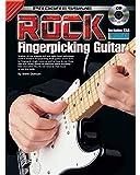 Aprende cómo tocar la guitarra - Rock Fingerpicking Guitar Electric - Notas TAB Acordes - Tutor de música Enséñate a ti mismo Lecciones para principiantes - Libro y CD - R5