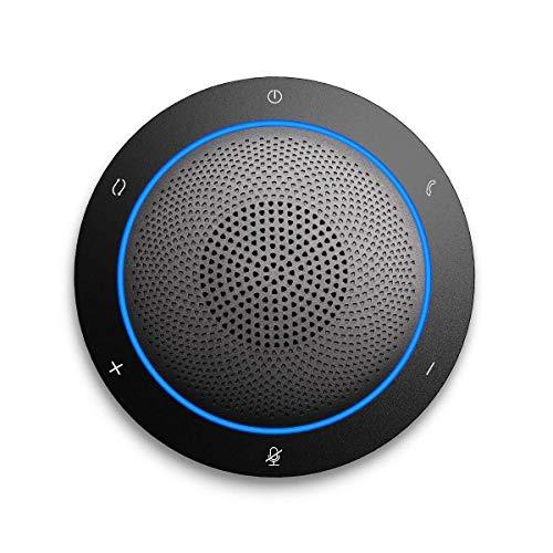 Kaysuda Bluetooth Conference Speakerphone Microfono e Altoparlante Wireless per telefoni cellulari e Computer, Vivavoce per Ufficio USB per Skype, Zoom