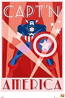 Best captain america poster retro Reviews