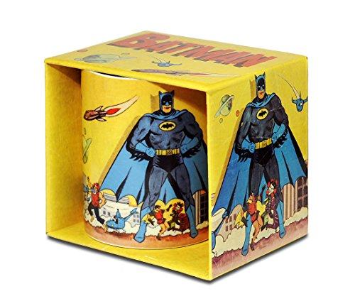 Logoshirt DC Comics - Batman Gotham City Porzellan Tasse - Kaffeebecher - farbig - Lizenziertes Originaldesign