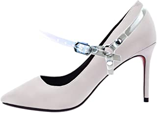 SUKRAGRAHA Detachable Shoe Belt Strap Band for Holding Loose High Heeled Shoe Pumps