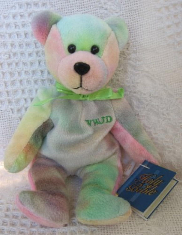 Holy Bears Remembrance Series 1999 Sheldon 9 Plush Tie Dye Bean Bag Bear by Holy Bears