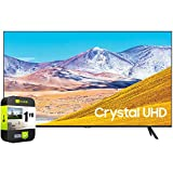 SAMSUNG UN55TU8000FXZA 55 inch 4K Ultra HD Smart LED TV 2020 Model Bundle with Support Extension