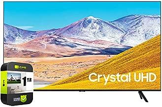 SAMSUNG UN55TU8000FXZA 55 inch 4K Ultra HD Smart LED TV 2020 Model Bundle with Support Extension