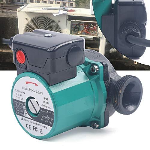 Umwälzpumpe - 25-60 / 120mm Hocheffizienz Pumpe, Edelstahl Heizung Umwälzpumpen, Zirkulations-Wasserpumpe für Solarheizung