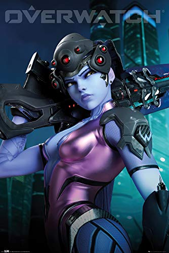 POSTER STOP ONLINE Overwatch - Gaming Poster (Widow Maker) (Size 24 x 36)