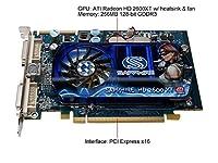 100208L - Sapphire 100208L Sapphire 100208L New Sapphire ATI Radeon VCX Hard Drive 2600XT 256MB