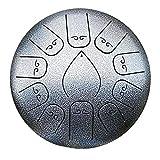 biteatey TS-ideen - Pandero de Mano (Acero, 30,5 cm), a