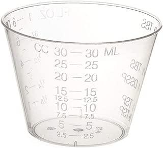 Non-Sterile Graduated Plastic Medicine Cups, 100 Count (Limited Edition)