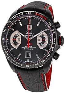 TAG Heuer Men's CAV518B.FC6237 Grand Carrera Automatic Chronograph Watch image