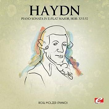 Haydn: Piano Sonata in E-Flat Major, Hob. XVI:52 (Digitally Remastered)