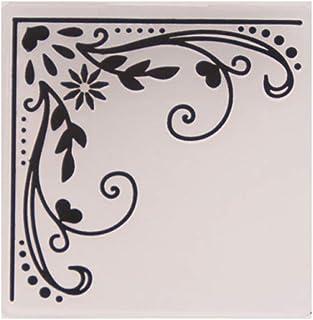RTPUYTR Molde de pasta de álbuns de fotos faça-você-mesmo para fazer cartões de decoração, artesanato, renda, plástico em ...