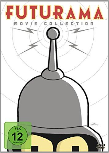 Futurama - Movie Collection [4 DVDs]