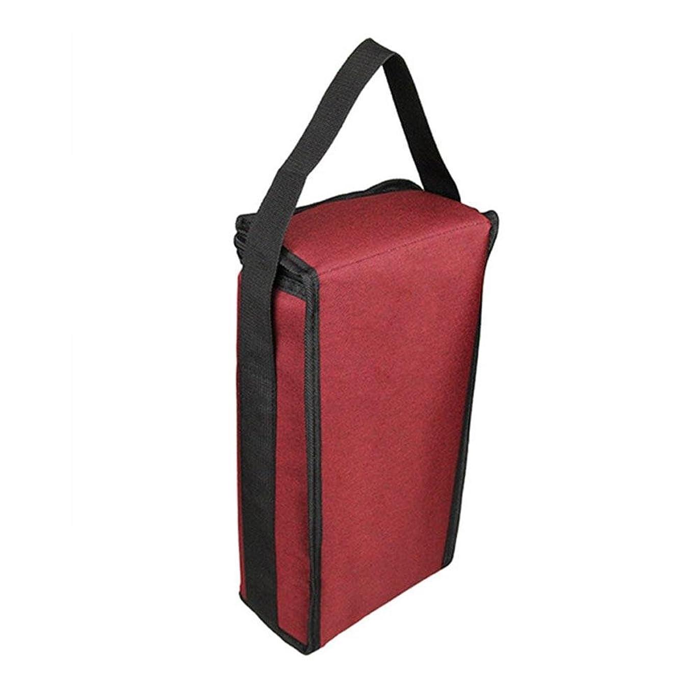 ペアつぶやき医学TeFuAnAn 2本入り ワイン保冷バッグ ワインバッグ 保冷 ポータブル オックスフォード製 防水