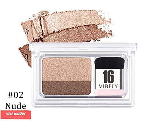 MAGIC EYES™ - FARD À PAUPIÈRES DUAL COLOR PARFAIT - fard à paupières deux couleurs maquillage (nude)