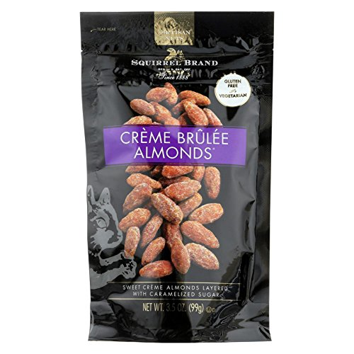 SQUIRREL BRAND NUT ALMOND CREME BRULEE35 OZ Pack of 6