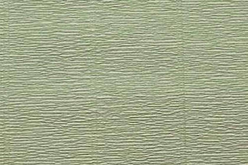 Crepe Paper Roll, Premium Heavy Italian 140 g, 13.3 sqft, Sage Green