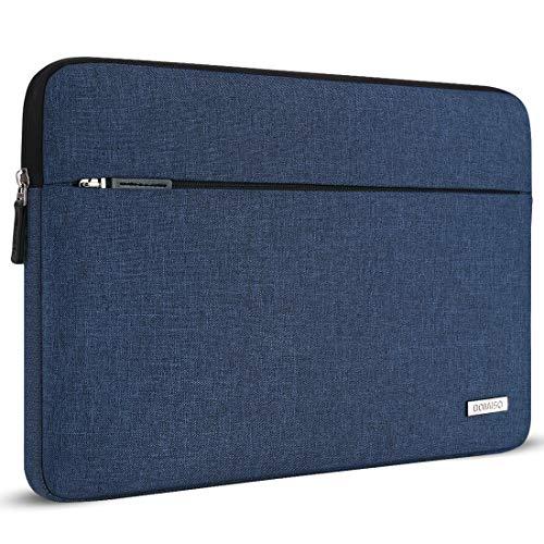 "DOMISO 13.3 Zoll Laptop Sleeve Case Hülle für Microsoft 13.5\"" Surface Laptop / 2017 Neu 13\"" MacBook Pro Touch Bar / 13.3\"" Zenbook UX305 / 12.5\"" Thinkpad Yoga 260 (Blau)"