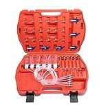 KKmoon Iniezione di Carburante, Fuel Tester Set Diesels Accessory Injector Flow Tester del Combustibile del Tester Adattatore Comune del Corredo Fuel Tester Set