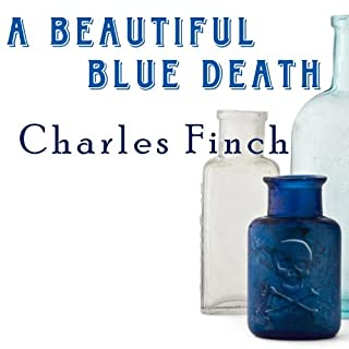 A Beautiful Blue Death audiobook cover art