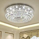 Moderna llevó las luces de techo Lámparas de Techo brillo Luminaria de techo de la lámpara principal de iluminación del alumbrado del dormitorio sala Luces, Tricolor, control remoto, de 1000 mm de diá