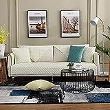 Multi-funda de sofá tamaño antideslizante raya Sofá protector...