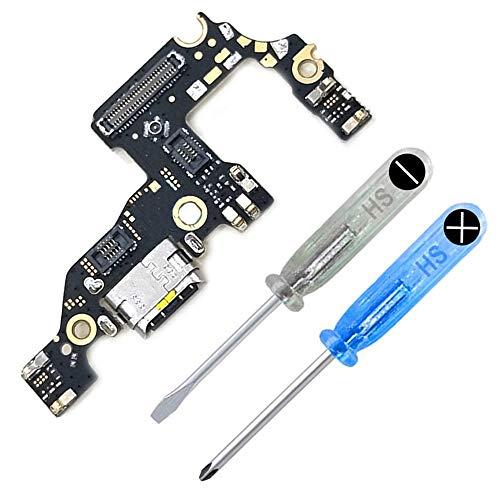 MMOBIEL Conector Dock de Carga de Reemplazo Compatible con Huawei P10 Plus Flexcable Incl. Destornilladores