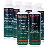 6 tlg. Set Blue Magic 4 Konditionierer/1 Reiniger/1 Creme, Wasserbettpflegemittel