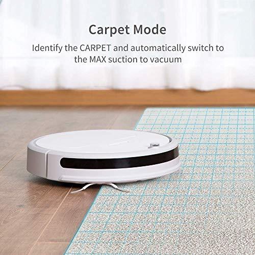 roborock Xiaowa E20 Saugroboter mit Wischfunktion und APP-Steuerung, staubsauger Roboter mit automatischer Teppichmodus für Tierhaare, Teppiche und Hartböden (Generalüberholt) - 3
