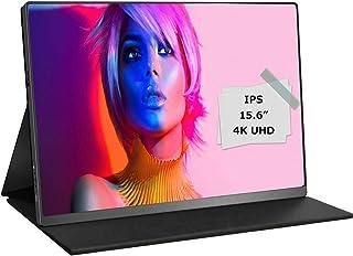 モバイルモニター モバイルディスプレイ 4K 15.6インチ cocoparスイッチ用モニター 非光沢IPSパネル 薄い 軽量HDRモード/FreeSync対応/ブルーライト機能 3840x2160 UHD/USB Type-C/標準HDMI/mini DP/カバー付3年保証付
